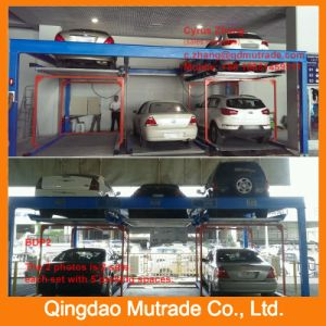2 3 4 5 6 7 8 9 10 11 12 13 14 15 Floor Level High Quality Mutrade High Building Hydraulic Electric Puzzle Tower Parking System pictures & photos