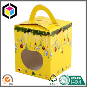 Glossy Color Christmas Apple Carrier Paper Packing Box pictures & photos