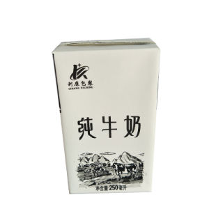 250ml Aseptic Milk Carton with Aluminum Foil pictures & photos
