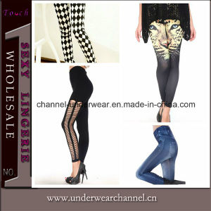 Hot Sale Sexy High Waist Lady Printing Leggings (T79488 & 79485 & 79494 & 79414) pictures & photos