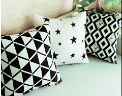 Functional Active Printing Soft Cushion