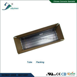 Pin Header Pitch 2.54mm  Dual Row Right Angle Type H2.0mm with Blue Housing pictures & photos