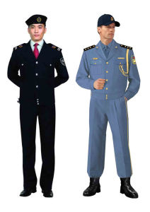Custom Comfortable Security Guard Uniform for Men with Many Colours Sc-08 pictures & photos