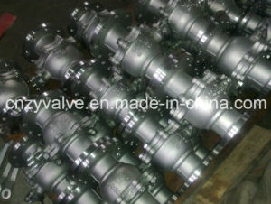 API6d CF8/CF3/CF/8m/CF3m Large Batch Stailess Steel PTFE Ball Valve pictures & photos