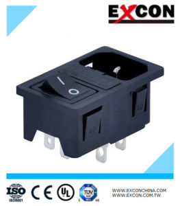 Excon S-03f-12s-4 on off Rocker Switch Socket Durable & Safe pictures & photos