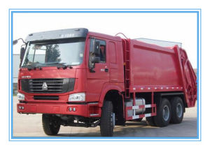 Heavy Duty 6X4 Sinotruk HOWO Compactor Garbage Truck pictures & photos