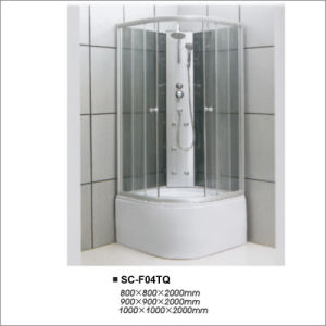 Sliding Bathroom Complete Steam Shower Room Bath Cabin pictures & photos