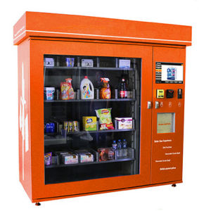 Snack Vending Machine with LCD Advertising Screen pictures & photos