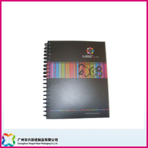 Office Supply Stationery PVC Cover Spiral/Wire Binding Notebook Planner (xc-6-006) pictures & photos