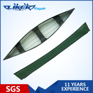Fishing Canoe Boats LLDPE Outrigger Sandwich Structure Canoe pictures & photos
