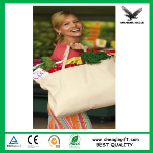 Custom Printed Cheap Promotion Canvas Calico Bag pictures & photos