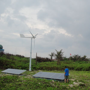 Qingdao Anhua High Efficiency Wind Generator Solar Panel off Grid System pictures & photos