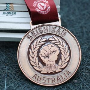 Bespoke Zinc Alloy Custom Bronze Metal Emboss Karate Medal for Austrilia pictures & photos