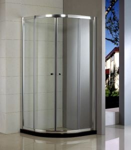 Simple Glass Shower Door Hb-249q pictures & photos