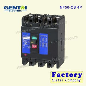 Good Quality Cheaper Mitsubishi Type 4p 50A Moulded Case Circuit Breaker pictures & photos