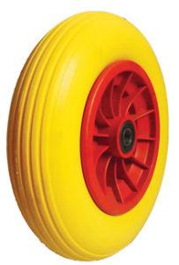 PU Wheels for Wheel Barrow Hand Trolley Tool Cart PU1412