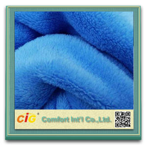 100% Polyester for Blanket Fabric Wholesale Fleece Fabric pictures & photos