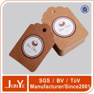 Thin Type of Paper Brown Kraft Hanging Tags for Jeans Pants Packaging