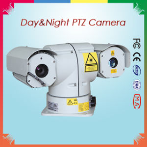 PTZ Outdoor Long Range Laser Night Vision Camera Sdi (Day 600m Night 300m) pictures & photos