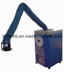Portable Welding Soldering Laser Grinding Dust and Fume Extractor with Fume Extraction Arm pictures & photos
