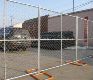 USA 6FT*12FT Chain Link Portable Fence/Temporary Fence Panel pictures & photos