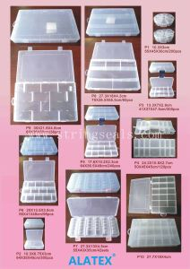 Hot Sell Plastic Storage Box for Ornament pictures & photos
