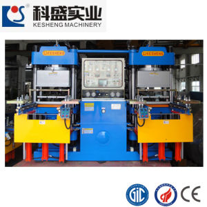 250t Vacuum Rubber Machine for Silicone Rubber Products (KS250VF) pictures & photos