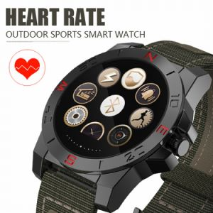 Round Screen N10 Smart Watch Phone with Heart Rate Monitor and Compass Waterproof Watch for Apple Ios and Android Outdoor Sport Watch pictures & photos