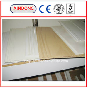 PVC Profile Extrusion Line / Twin Screw Extusion Profile Line pictures & photos