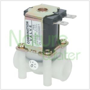 24V Solenoid Valve with Flow Limiter for Home RO Use (SVC-1) pictures & photos