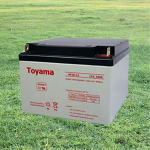 12V26ah Best Quality UPS Battery Sealed Lead Acid AGM pictures & photos