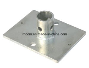 Galvanized Steel Base Plate for Scaffold Frames Accessories pictures & photos