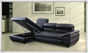 Blue Color Leather Sofa, Recliner Sofa, Home Furniture (M329) pictures & photos