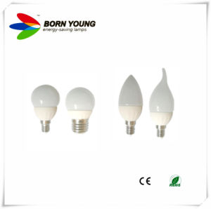 LED Ceramic Candle Bulb (2 W3W 5W) pictures & photos