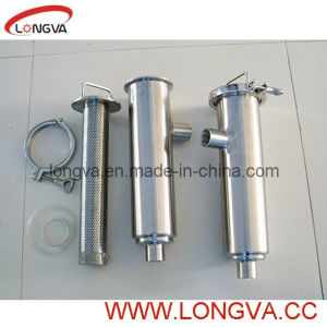 Food Grade Steel 304 Angle-Line Strainer pictures & photos