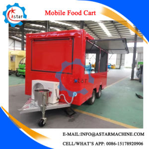 2017 Made Free Design Western Popular Food Cart Maker pictures & photos