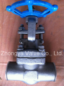 High Pressure Forged Gate Valve 2500lb pictures & photos
