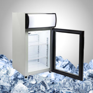Glass Display Small Drinks Chiller pictures & photos