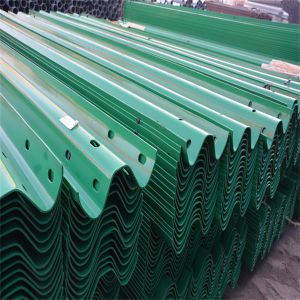 Hot DIP Galvanized Highway Guardrail Barrier pictures & photos