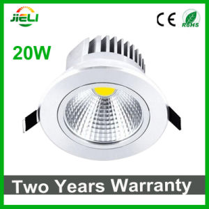 High Power 20W AC85-265V COB LED Ceiling Downlight pictures & photos