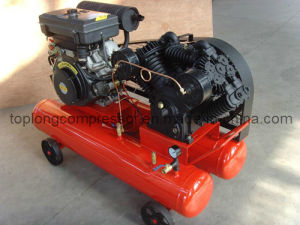Petrol Gasoline Diesel Engine Driven Air Compressor (Td-1.05/12) pictures & photos