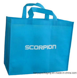 Blue Non Woven Promotional Bag pictures & photos