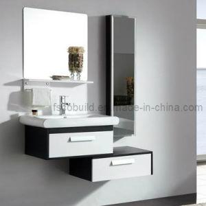 Modern New Solid Wood Carcase Bathroom Cabinet Bathroom Vanity (CB-1017)