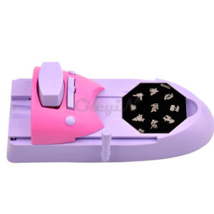 DIY Nail Art Stamp Printing Manicure Machine with Steel Plates pictures & photos