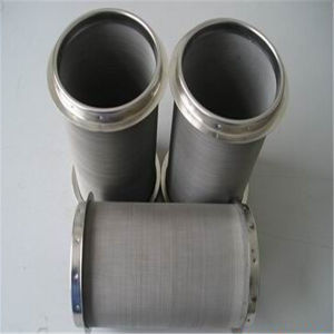 Stainless Steel Mesh Screen Filter Cylinder pictures & photos