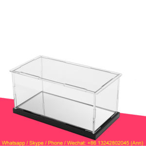 Custom Acrylic Figures Display Box pictures & photos