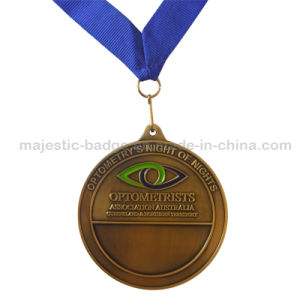 Customized Recessed Antiaque Plating Material Medallion pictures & photos