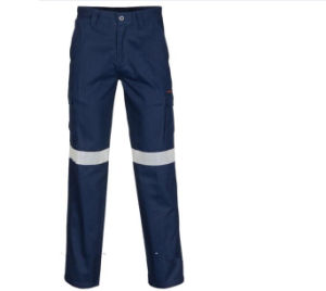 Cotton Polyester Color Reflective Tape Cargo Work Pants pictures & photos