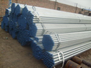 Hot Dipped Galvanized Steel Pipe with Thread and Socket
