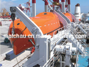 Totally Enclosed Tanker Using Lifeboat and Garavity Davit pictures & photos
